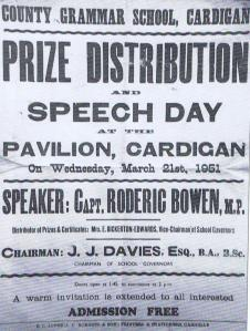 Prize giving in 1951