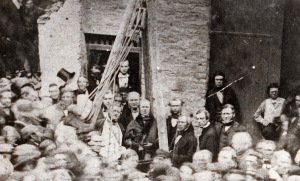 Laying the Foundation Stone of the Guildhall, 1858