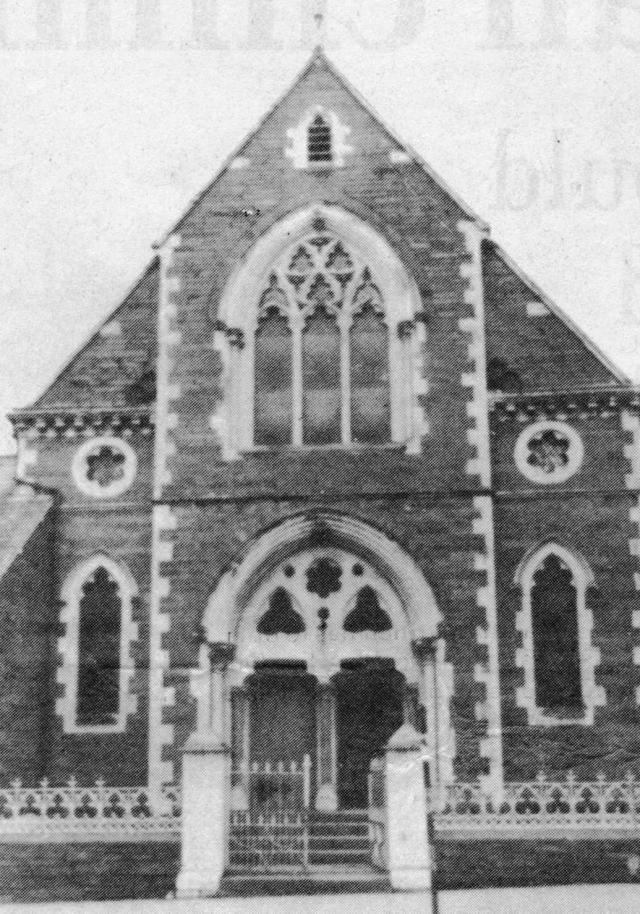 Hope Chapel 1880–1976