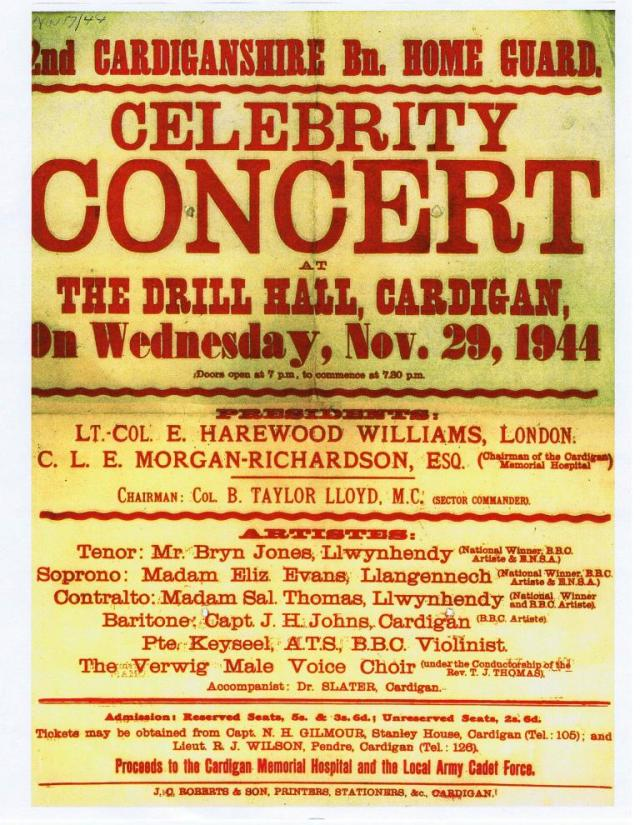 Celebrity Concert in aid of the Hospital