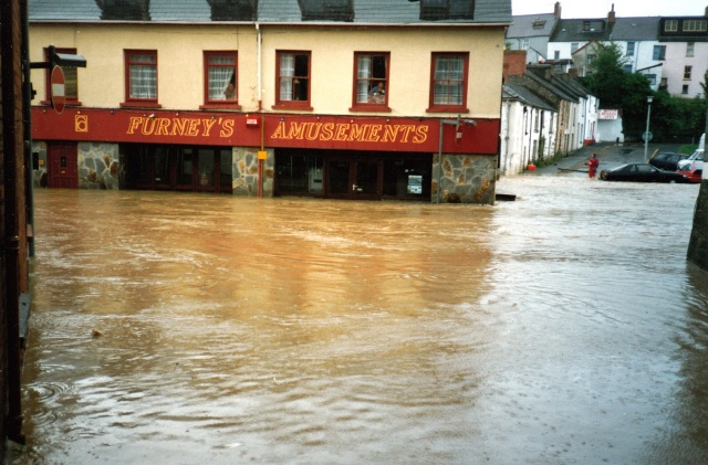 Floods in the Mwldan